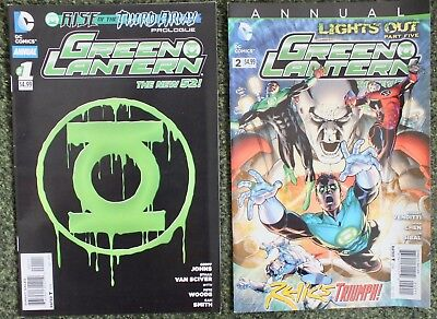 2 issues Green Lantern - Annuals - Issue 1 & 2 - DC - 2014 - NM/VF (470)