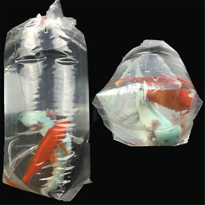 50~200PCS Aquarium Breathing Bags Breather Bags Transport LongLife Fish Shrimp