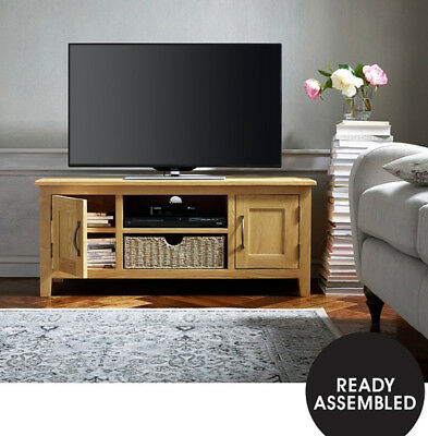 Seagrass   Large Tv unit  Oak  Brand NEW