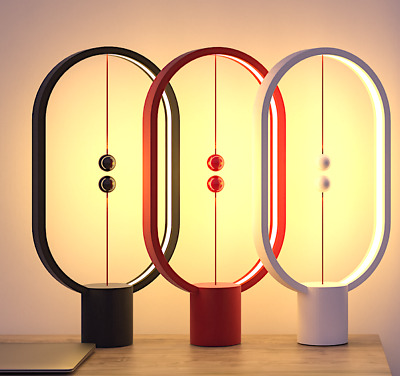 Brand New!  Heng Balance Lamp - Ellipse Magnetic mid-air Switch USB  LED Lamp