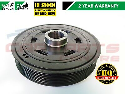 FOR HONDA ACCORD CIVIC CRV FRV 2.2 CDTi 140BHP DIESEL CRANKSHAFT PULLEY NEW