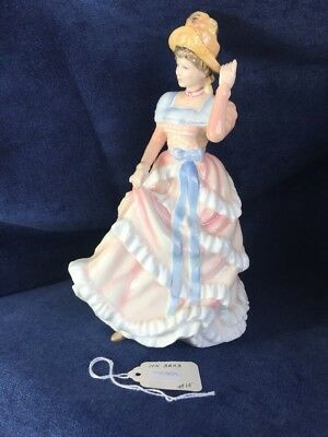 Royal Doulton Sharon Hn3603 1994 Pretty Ladies Figurine, Porcelain Mint