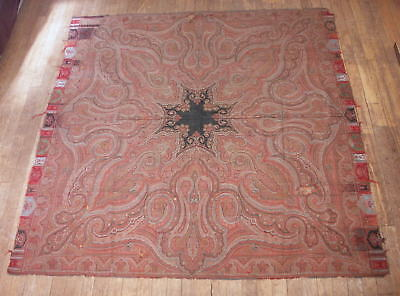 Large Old Indian Wool Paisley