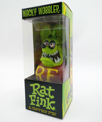Green Rat Fink Big Daddy Gift Bobblehead Legends Wacky Wobbler Action Figure