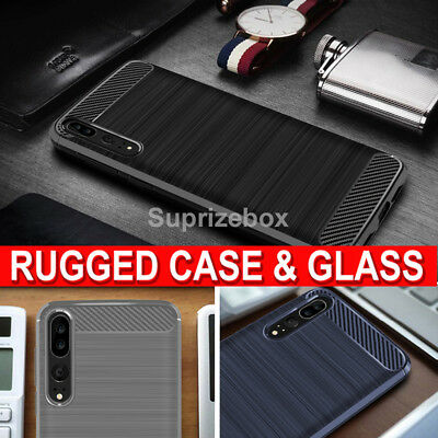 For Huawei P20 P20 Lite P20 Pro New 360 Shockproof Case Cover & Tempered Glass