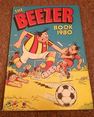 The Beezer Book Annual 1980 D.C. Thomson & Co. Ltd. Comic Strips Cartoons