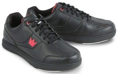 New Mens Brunswick Black Edge Bowling Shoes Sizes 11 and 12 Available