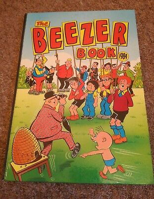 The Beezer Book Annual 1984 D.C. Thomson & Co. Ltd. Comic Strips Cartoons