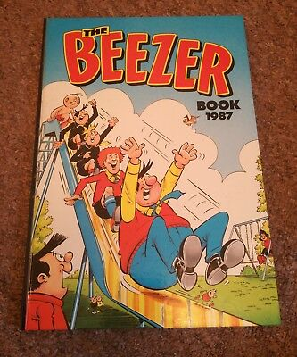 The Beezer Book Annual 1987 D.C. Thomson & Co. Ltd. Comic Strips Cartoons