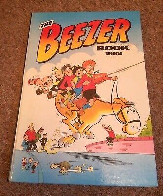 The Beezer Book Annual 1988 D.C. Thomson & Co. Ltd. Comic Strips Cartoons