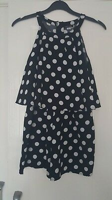 river island girls playsuit aged 10