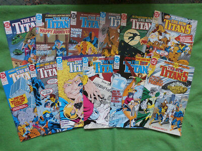The New Teen Titans 32 - 130 Plus Annuals