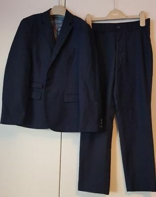 Lovely boys  Navy Next suit Age 10 years
