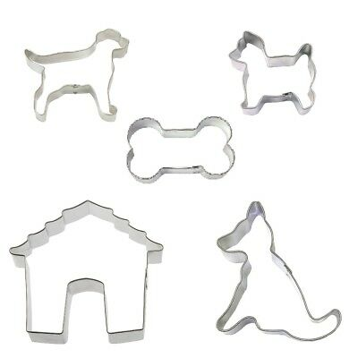 5 Football Cookie Cutters Helmet Jersey Pennant Sporting Event Birthday Party
