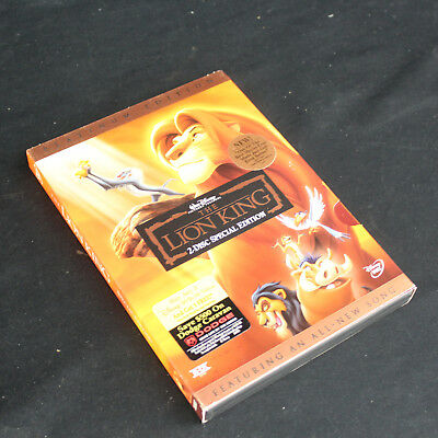 Lion King 2-Disc Platinum Edition Walt Disney DVD Set Region 1 NTSC Ships Free!