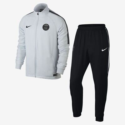 Nike Paris Saint Germain PSG Dri-Fit Squad Woven Full Tracksuit Mens Small BNWT