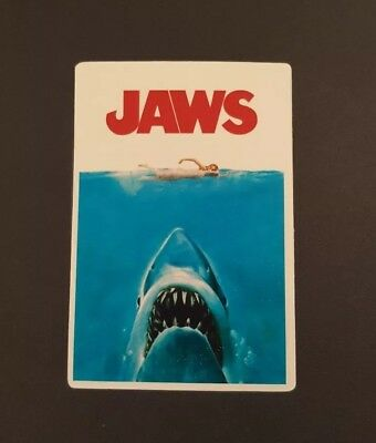 S110 Jaws shark movie film Sticker, Decal, laptop, wall,book,phone