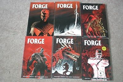Issues 1 - 6 of Crossgen Forge Comic Book Graphic Novel