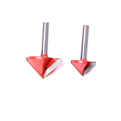 90 Degree 3D Making Router CNC Engraving V Groove Bits End Mill 6mm x 22mm RAS