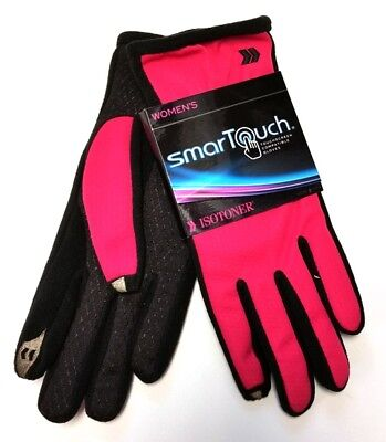 Isotoner Women's SmarTouch Gloves for Touchscreens M/L - Pink