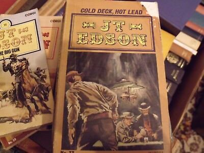 JT EDSON - COLD DECK, HOT LEAD ( Calamity Jane) FREE UK POSTAGE