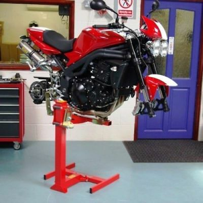 EazyRizer Original Red Motorcycle Lift by Quasar