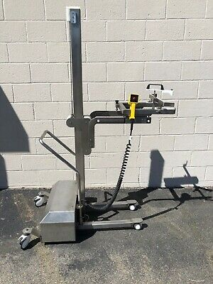 Stainless Steel Battery Lift Truck Locking Wheels 120V Savage Bros. Type Lift