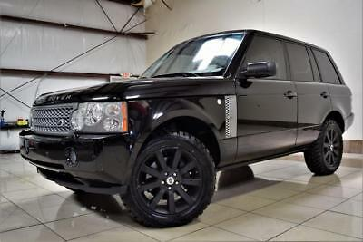 Range Rover SC LIFTED 4X4 2008 LAND ROVER RANGE ROVER HSE SUPERCHARGED LIFTED ONE OF THE KIND MUST SEE