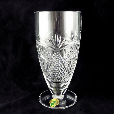"Waterford Crystal New SEAHORSE Nouveau Iced Beverage 6 1/4"" Cool Drinks Ice Tea"