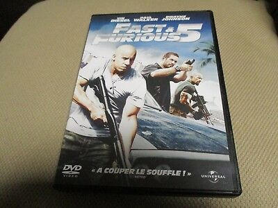 "DVD NEUF ""FAST AND & FURIOUS 5"" Vin DIESEL, Paul WALKER, Dwayne JOHNSON"