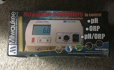 Milwaukee MC 125 pH / ORP Controller