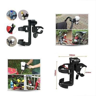 Wheelchair Cup Holders Holders, Bike Fits Baby Stroller, 360 Degrees Universal