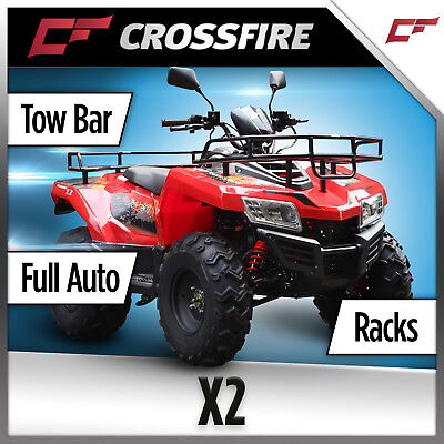 Crossfire X2 Quad Bike, Farm Dirt ATV