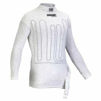 OMP OMPIAA/752 FIA APPROVED NOMEX COOLSHIRT In Optical White  ALL SIZES