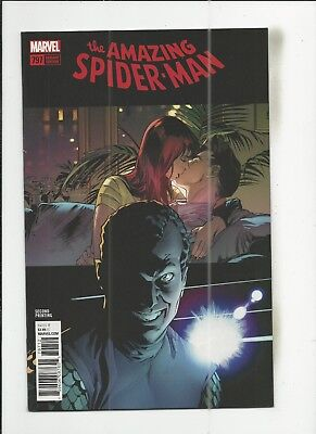 Amazing Spider-Man #797 2nd Print Variant Cover near mint- (NM-) condition