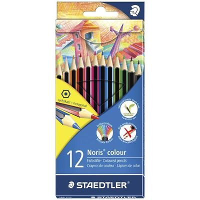 Staedtler Noris Coloured Pencils 12 Pack 185C12