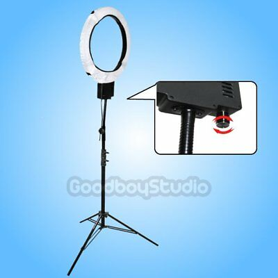 65W 5400K Continusous Dimmable Ring Light Lamp + 2.6M Heavy Duty Stand AU