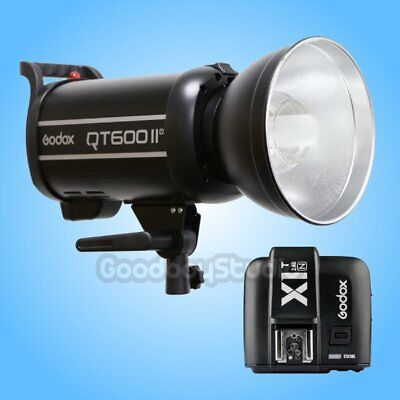 Godox QT-600IIM 600W 2.4G X-System Studio Strobe Flash Light + X1T-N Transmitter