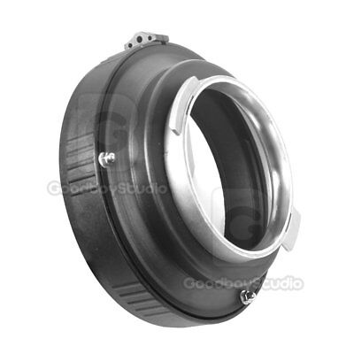 Broncolor (A) to Elinchrom Mount Speedring Adapter for Pulso / Compuls Strobe