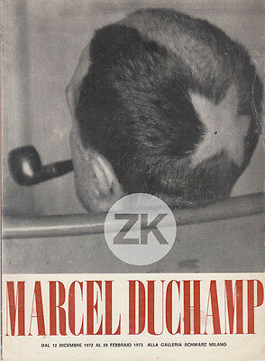MARCEL DUCHAMP Comète TONSURE Pipe MAN RAY Crâne Exposition DADA Milan 1972