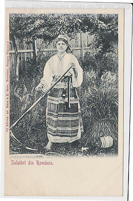 RUMÄNIEN ,  SALUTARI DIN ROMANIA ,ETHNIC , TYPES FROM ROMANIA ca.1905