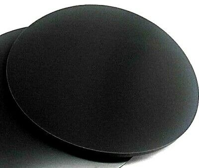 "Neoprene Rubber Sheet  Solid 1/4"" Thk x 8"" Diameter Disc  60 Duro Std Flex"