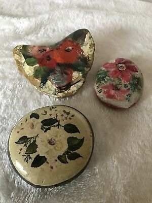 Hand Painted Pebbles X3