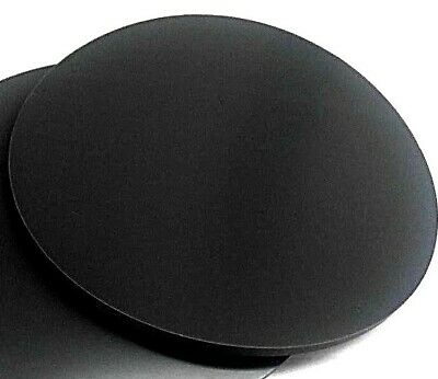 "Neoprene Rubber Sheet  Solid 1/4"" Thk x 6"" Diameter Disc  60 Duro Std Flex"