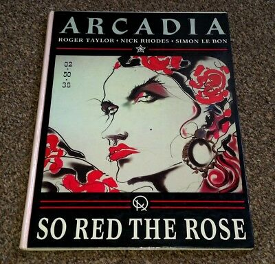 DURAN DURAN Arcadia Song And Sheet Music Book - So Red The Rose HARDBACK