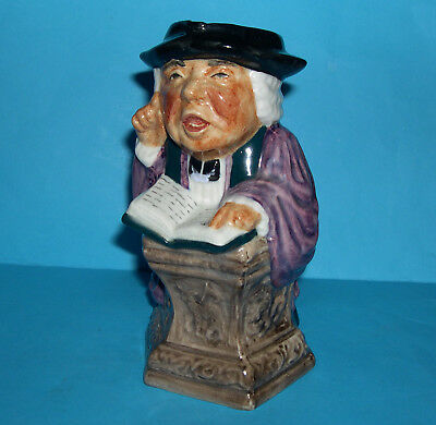Roy Kirkham Pottery Staffordshire - Collectable Toby Jug 'The Jolly Vicar' .