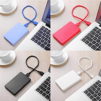 2.5in USB3.0 3TB 5Gbps HDD SATA SSD Hard Drive External Enclosure Case for PC