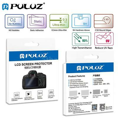 PULUZ 9H Tempered Glass DSLR Camera Screen Protector for Canon Nikon G2Y2