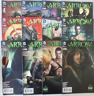 Complete 12 issue set of Arrow - # 1-12 inclusive - DC - 2013 - NM/VF (503)