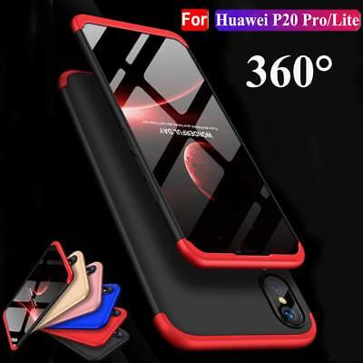 360 Hybrid Shockproof Hard Full Cover Case Rugged For Huawei P20 P20 Lite Pro